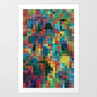 I'm Just An Array of Colours? Art Print
