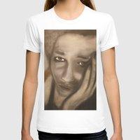 woman T-shirts featuring Woman by Falko Follert Art-FF77