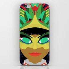 Xochiquetzal iPhone & iPod Skin