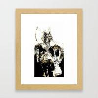 Dionysus Framed Art Print
