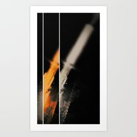 Retro Light Art Print