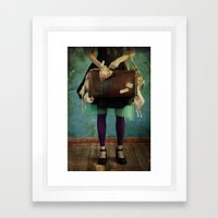 Fishy Stuff Framed Art Print
