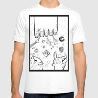 The Sand Between God's Toes Mens Fitted Tee White SMALL