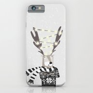 Christmas Bright Reindee… iPhone 6 Slim Case
