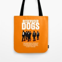 Reservoir Dogs Movie Poster Tote Bag