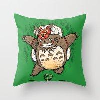 Totoroke Throw Pillow