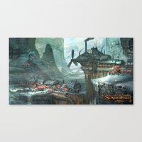 SunderFall: Galbourne Ridge Canvas Print