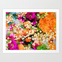 POP-Sparkles Art Print