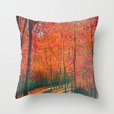 Beautiful colors of Autumn Throw Pillow
