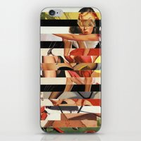 Glitch Pin-Up Redux: Lin… iPhone & iPod Skin