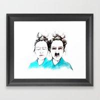 Inner Dictator Framed Art Print