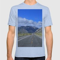 Fredericksburg, CA Mens Fitted Tee Athletic Blue SMALL