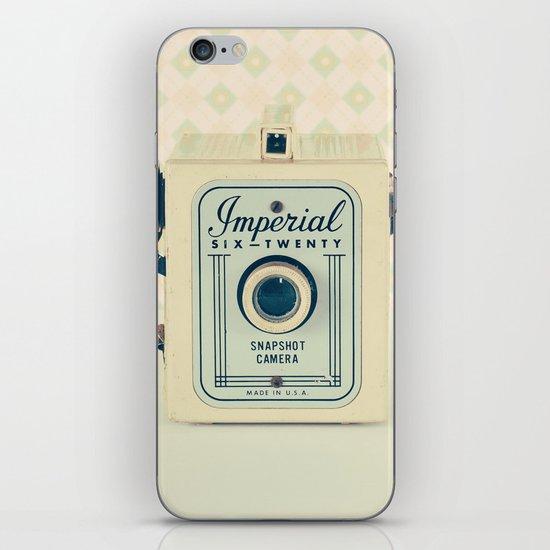 Art Deco Retro Camera  iPhone & iPod Skin