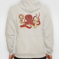 Flowered Octopus Hoody