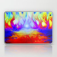 Flaming Forrest Laptop & iPad Skin