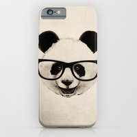 iPhone & iPod Case featuring Panda Head Too by Isaiah K. Stephens