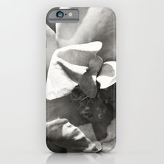 Black & White Rose iPhone 6 Slim Case