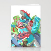 Tons of Shoes Stationery Cards