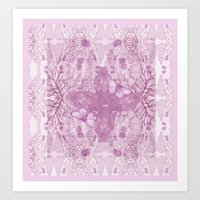 Bear Kaleidoscope ♡ Art Print