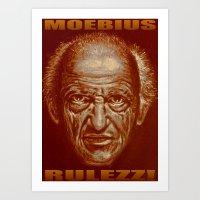 moebius rulezz 2015 Art Print