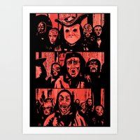Eyes Wide Shut #2 Art Print