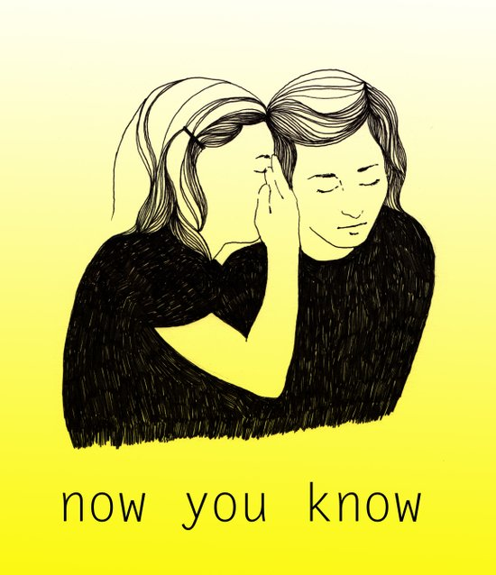 Now You Know Art Print
