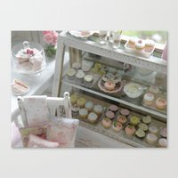 The Cottage Bakery Canvas Print