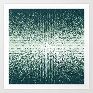 Pixel Blast Art Print