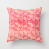 Pink : Pattern Throw Pillow