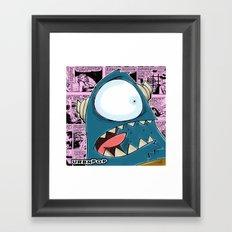 The Horror of it all BYRON  Framed Art Print