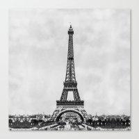 Eiffel Tower, Paris Fran… Canvas Print