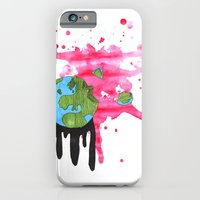 iPhone & iPod Case featuring Broken Earth  by YumeYue