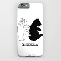 iPhone & iPod Case featuring Hand-shadows by luradontsurf
