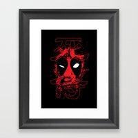 Dead Mercenary Framed Art Print