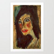 Expressionism Figure Interpretation Art Print
