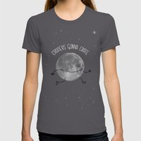 Craters Gonna Crate Womens Fitted Tee Asphalt SMALL