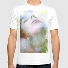 Melody of you Mens Fitted Tee White SMALL