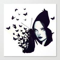 Butterflies 2.0 Canvas Print