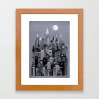 Nightbears Framed Art Print