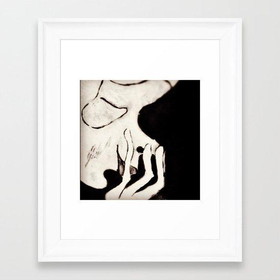 giggling Framed Art Print
