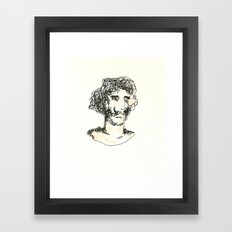 El Baron Framed Art Print