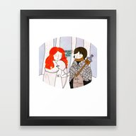 You Know Nothing Framed Art Print