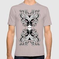 Octopus Mirrored Mens Fitted Tee Cinder SMALL