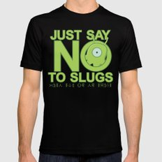 Just Say No Mens Fitted Tee Black SMALL