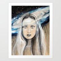 Galaxy Art Print