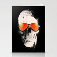 Summer Skull Stationery Cards