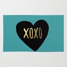XOXO Heart Rug
