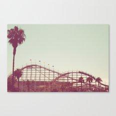 Coasters Views Canvas Print