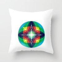 Chromasphere Throw Pillow