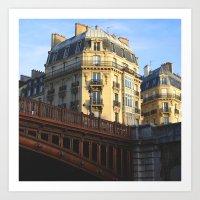 A little bit of Paris Art Print